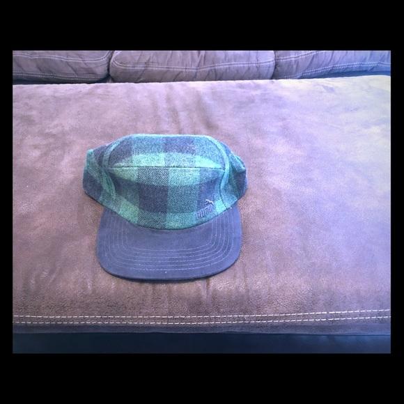 42bd762f5d0 Puma 5 Panel Strapback Hat